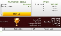 Tournaments - Poker Texas Holdem