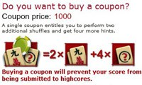 Coupon Mahjong