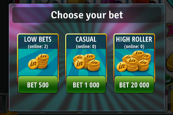 Bingo Slots - tutorial screen 1