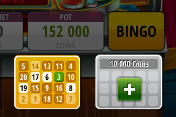 Bingo Slots - tutorial screen 3