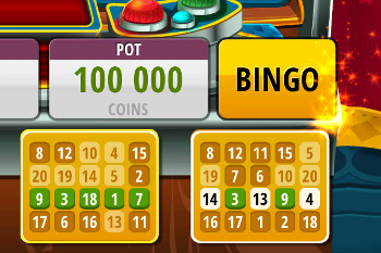 Bingo Slots - tutorial screen 5