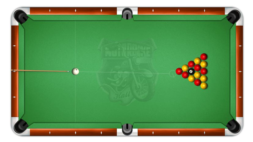 Table for billiards 8 UK