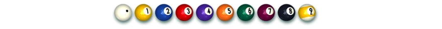 Balls for playing 9Ball Pool