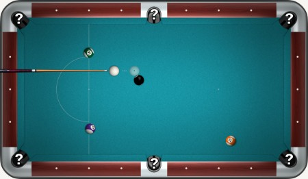 Sticking the last ball in play pool 8.