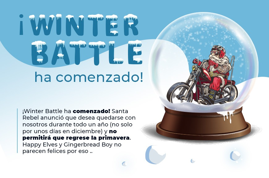 Winter Battle Finisher