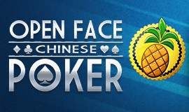 Open Face Chinese Poker: Encontre-me um lugar
