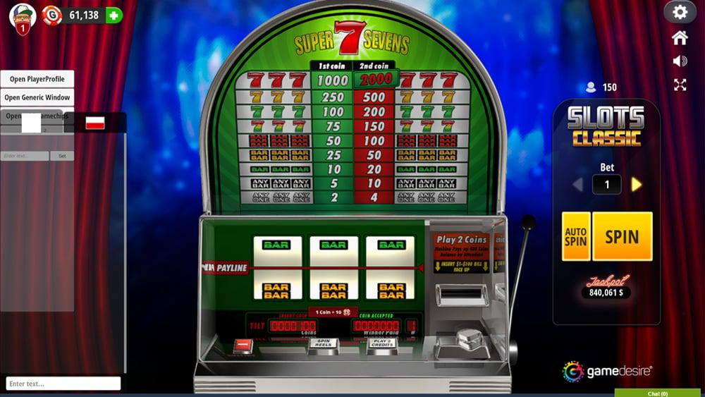 Slot Machine Virtual Picture