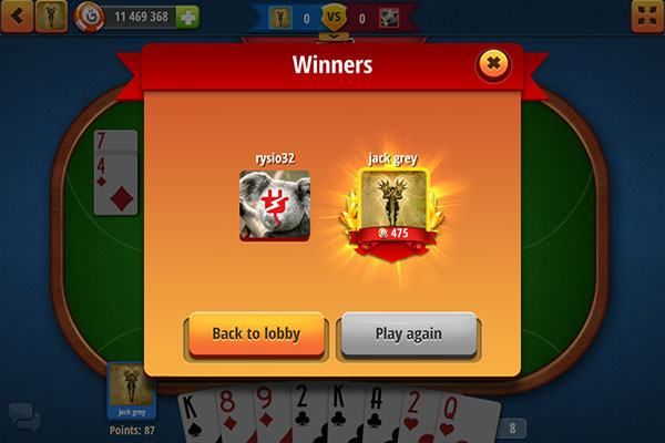 Rummy card game online