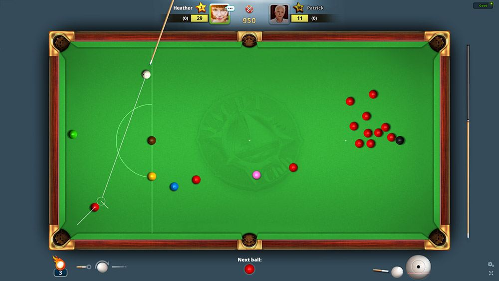 snooker game online