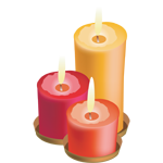 Romantic candles - Soldout