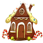 Gingerbread house - Soldout