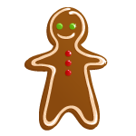 Gingerbread man - Soldout