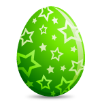 Green Easter Egg - Soldout