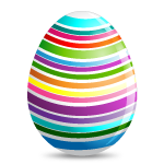 Colourful Easter Egg