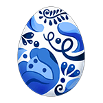 Easter Blue Egg