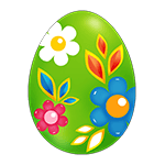 Easter Green Egg