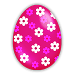Easter Rose Egg
