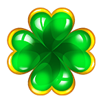 Irish four-leaf clover