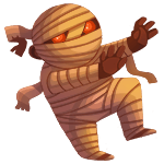 Sleepwalking Mummy