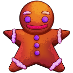 Yummy Gingerbread Man