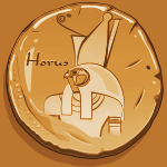 Seal of Horus (Clay copy)