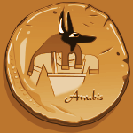 Seal of Anubis (Clay copy)