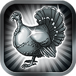 Silver Turkey - Soldout