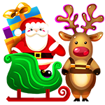 Santa Claus & Reindeer
