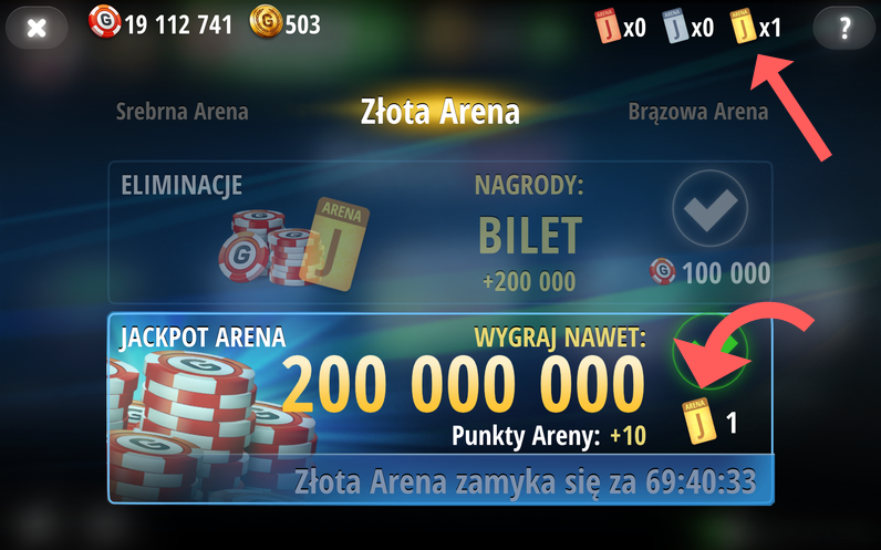 Poker Live Pro - mobile version